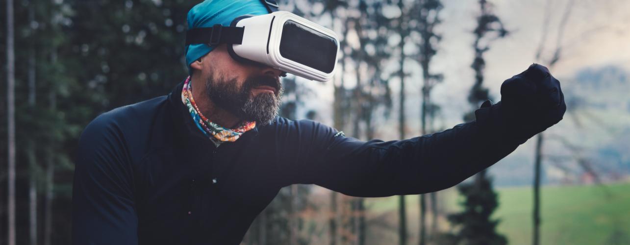 Ski en réalité virtuelle